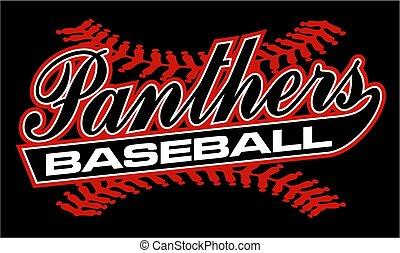 panteras, beisball