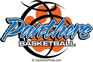pantery, koszykówka