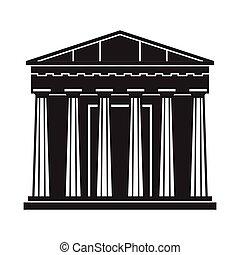 pantheon, atene, icona