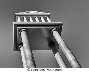pantheon, nachahmung
