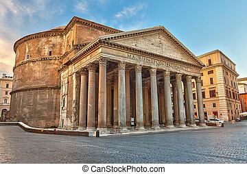 pantheon roma, italia