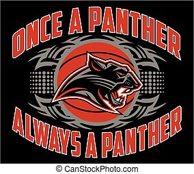 panther basketball - once a panther always a panther...