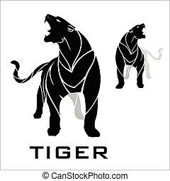 panther., tiger, blac., ficar