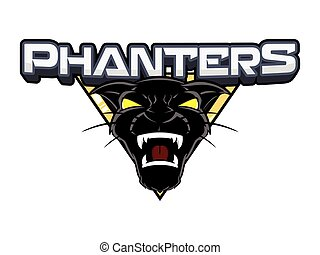 panthers banner illustration design