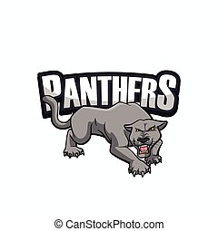 panthers illustration design