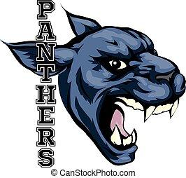 Panthers Mascot