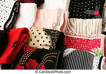 Panties - Colorful panties close up picture.