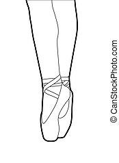 pantofole balletto