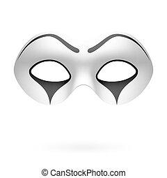 pantomime, clown, maske