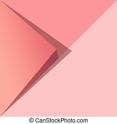 Pantone Geomatric Abstract Background Vector Illustration