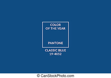 Pantone color of the year 2020. Color trend
