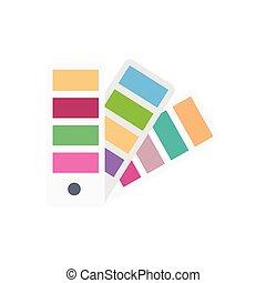 pantone  flat color icon