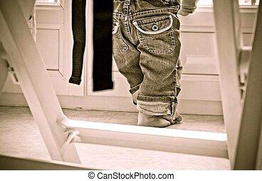 pants, jeans, children