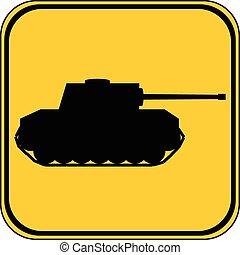 panzer, button.