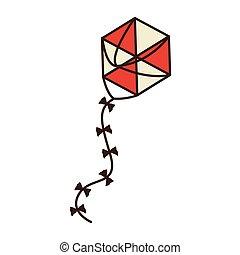 papírsárkány, játékszer, tervezés