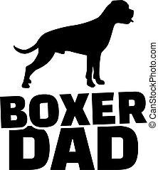 papa, boxeur