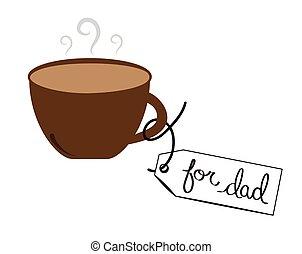 papa, café