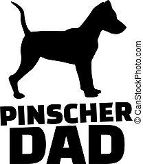 papa, pinscher