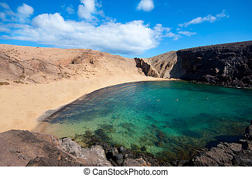 Papagayo Beach in Lanzarote