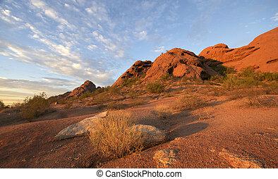 Papago Park in Phoenix, AZ