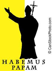 papam, habemus, illustration