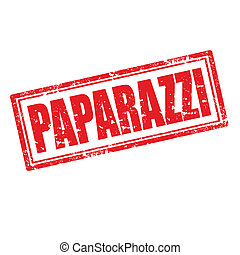 Paparazzi-stamp - Grunge rubber stamp with word Paparazzi, ...