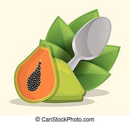 papaya healthy food menu