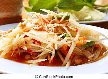 Papaya salad 1