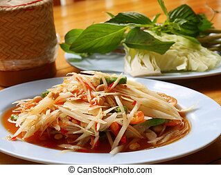 Papaya salad 2