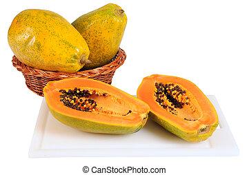 Papaya - Tropical fruit