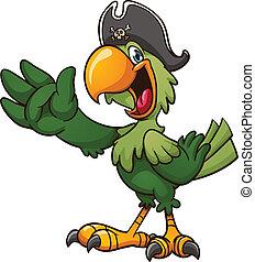 papegoja, sjörövare