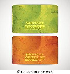 papelão, coloridos, grunge, textura, jogo, cartões, vindima