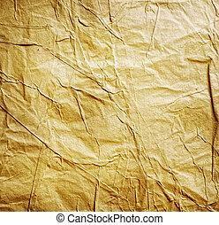 papel amarrotado, antigas
