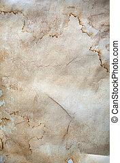 papel amarrotado, antigas, textura