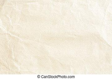papel amarrotado, textura