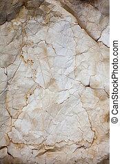 papel, antigas, amarrotado, textura