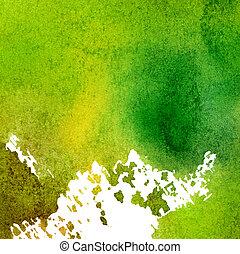 papel, aquarela, pintado