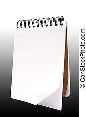papel, caderno