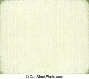 papel, costilla, blanco, bambú