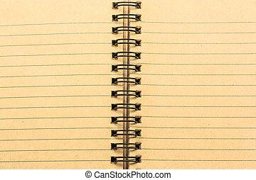 papel cuaderno