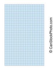 papel de gráfico, a4
