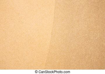 papel de kraft, textura
