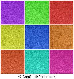 papel del color, arte