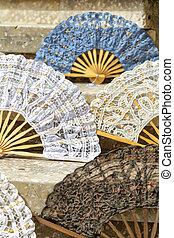 papel del handmade, ventilador, exposición