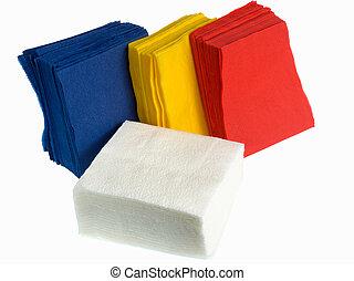 papel, disponible, servilletas