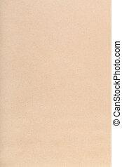 papel, kraft, vertical, marrón, empaquetado