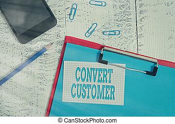 papel, lápiz, hoja, significado, clips, escritura, viejo, estrategia, portapapeles, texto, smartphone, fondo., converso, mercadotecnia, concepto, vuelta, táctica, customer., comprador, plomos, de madera, escritura, nota