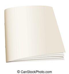 papel, livro, costas