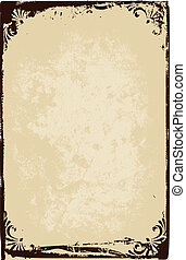papel, marco, textura