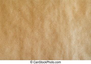 papel marrón